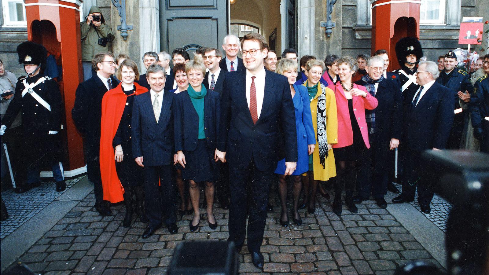 Dags dato: Nyrup præsenterer sin regering (25. januar 1993)